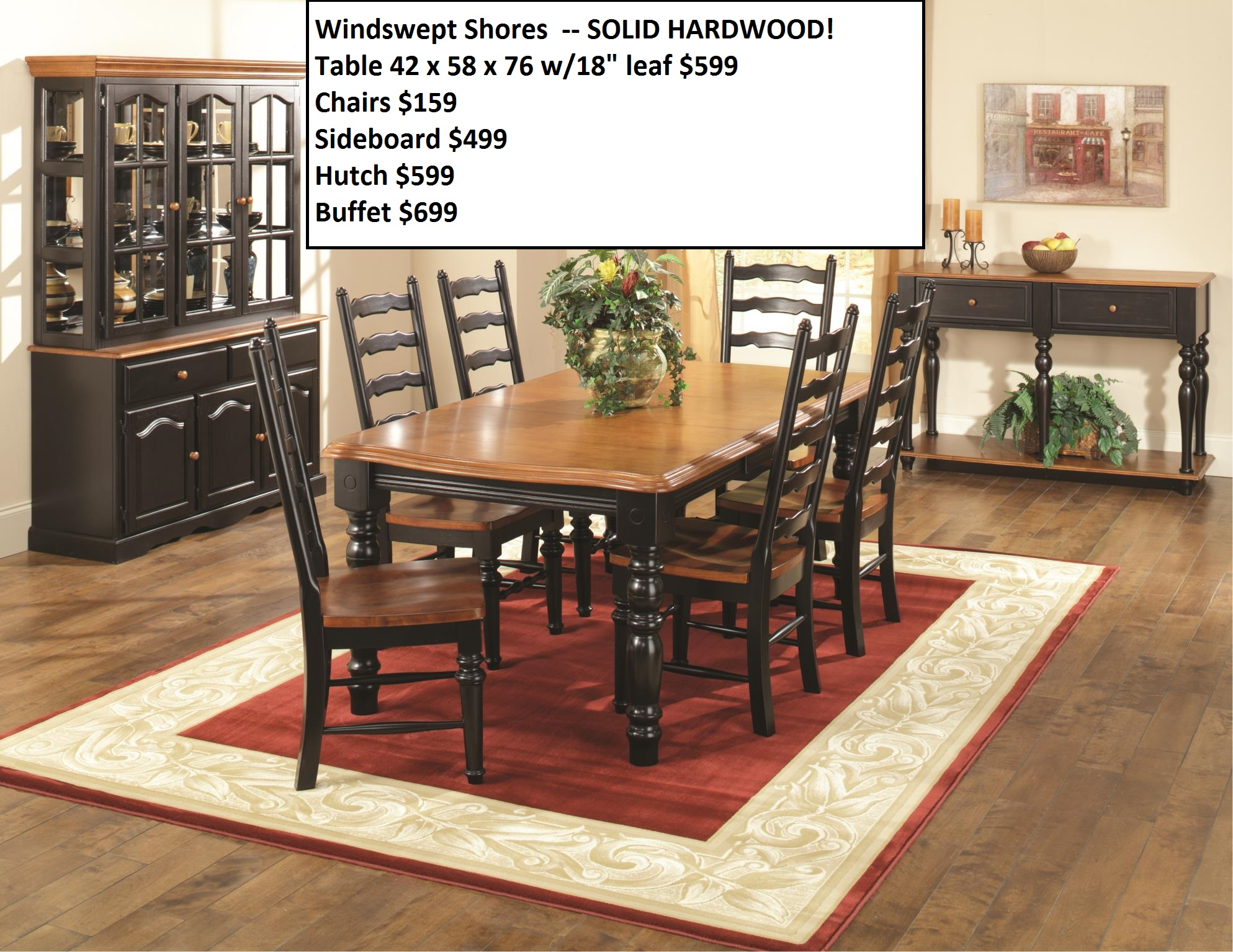 view full size image homelegance ohana 5 piece dining set in antique white