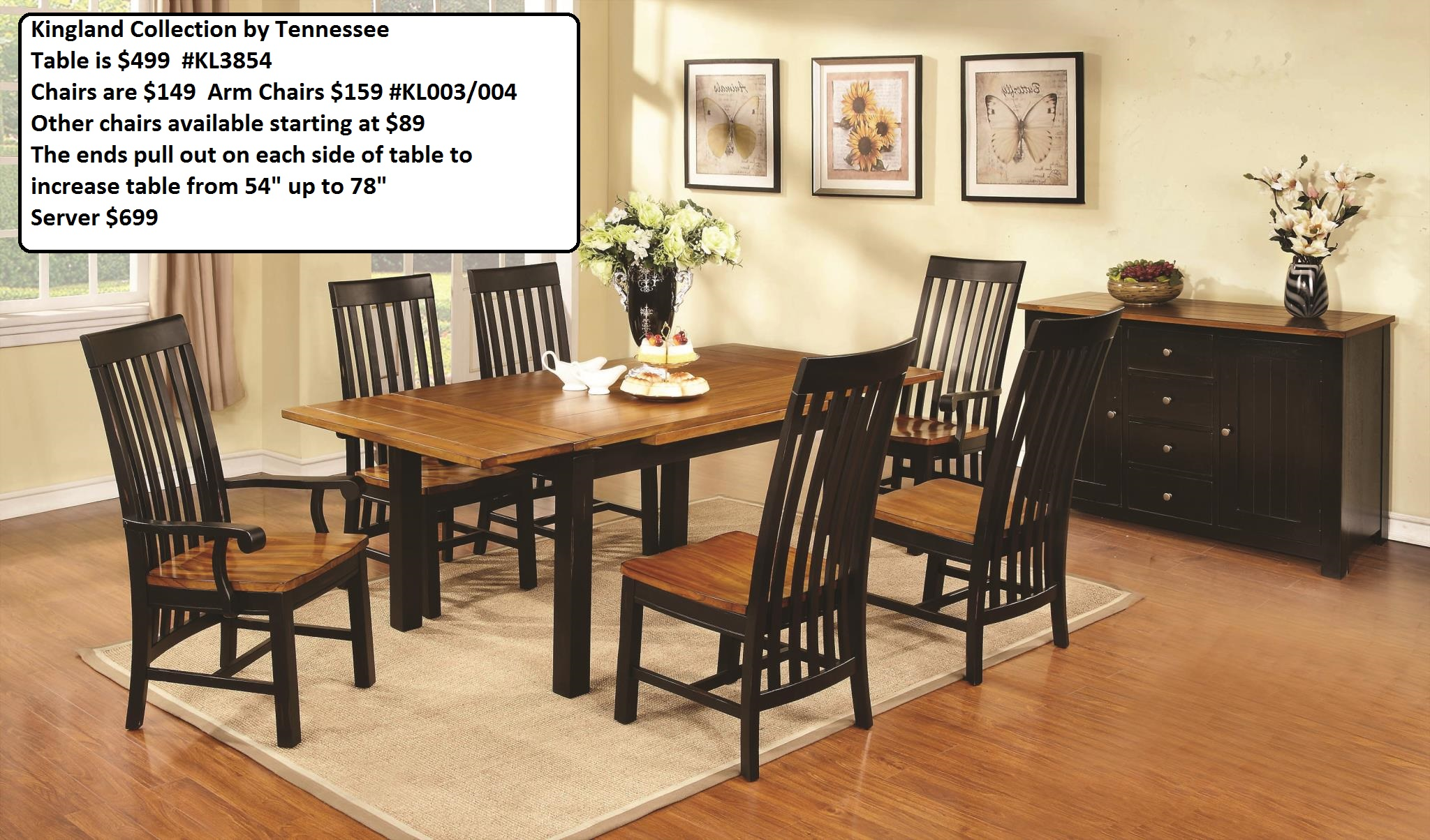 View full size image for Kitchen dining room chairs